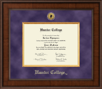 Hunter College Diploma Frames