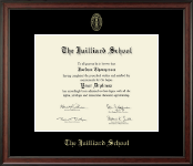 The Juilliard School Diploma Frame - Gold Embossed Diploma Frame in Studio