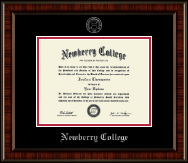 Newberry College Diploma Frame - Silver Embossed Diploma Frame in Ridgewood
