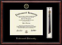 Lindenwood University Diploma Frame - Tassel Edition Diploma Frame in Southport