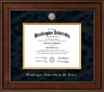 Washington University in St. Louis Diploma Frame - Presidential Masterpiece Diploma Frame in Madison