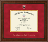 North Carolina State University Diploma Frame - Presidential Masterpiece Diploma Frame in Madison