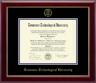 Tennessee Technological University Diploma Frame - Gold Embossed Diploma Frame in Gallery