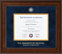 The University of Arizona Diploma Frame - Presidential Masterpiece Diploma Frame in Madison