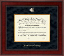 Bowdoin College Diploma Frame - Presidential Masterpiece Diploma Frame in Jefferson