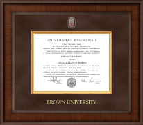 Brown University Diploma Frame - Presidential Masterpiece Diploma Frame in Madison