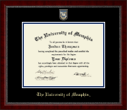 The University of Memphis Diploma Frame - Masterpiece Medallion Diploma Frame in Sutton