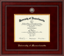 University of Massachusetts Amherst Diploma Frame - Presidential Masterpiece Diploma Frame in Jefferson