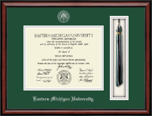 Eastern Michigan University Diploma Frame - Tassel Edition Diploma Frame in Southport
