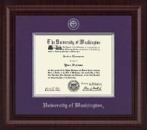 University of Washington Diploma Frame - Presidential Masterpiece Diploma Frame in Premier