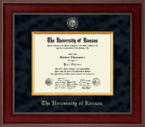 The University of Kansas Diploma Frame - Presidential Masterpiece Diploma Frame in Jefferson