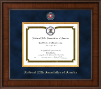 National Rifle Association of America Certificate Frame - Presidential Masterpiece Certificate Frame in Madison