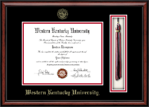 Western Kentucky University Diploma Frame - Tassel Edition Diploma Frame in Southport