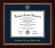 Northern Arizona University Diploma Frame - Heirloom Edition Diploma Frame in Murano