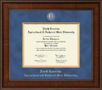 North Carolina A&T State University Diploma Frame - Presidential Masterpiece Diploma Frame in Madison