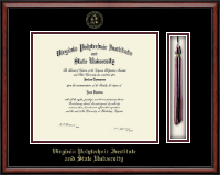 Virginia Tech Diploma Frame - Tassel Edition Diploma Frame in Southport