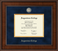 Augustana College Illinois Diploma Frame - Presidential Masterpiece Diploma Frame in Madison