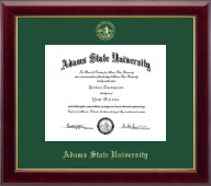 Adams State University  Diploma Frame - Gold Embossed Diploma Frame in Gallery