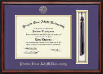 Prairie View A&M University Diploma Frame - Tassel Edition Diploma Frame in Southport