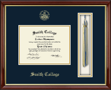 Smith College Diploma Frame - Tassel Edition Diploma Frame in Southport Gold
