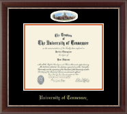 The University of Tennessee Knoxville Diploma Frame - Campus Cameo Diploma Frame in Chateau