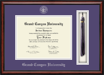 Grand Canyon University Diploma Frame - Tassel Edition Diploma Frame in Southport