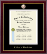 College of Charleston Diploma Frame - Masterpiece Medallion Diploma Frame in Gallery