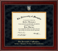 The University of Memphis Diploma Frame - Presidential Masterpiece Diploma Frame in Jefferson