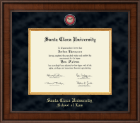 Santa Clara University Diploma Frame - Presidential Masterpiece Diploma Frame in Madison