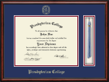 Presbyterian College Diploma Frame - Tassel Edition Diploma Frame in Southport