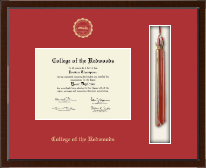 College of the Redwoods Diploma Frame - Tassel Edition Diploma Frame in Delta