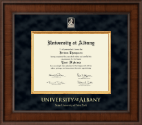 University at Albany State University of New York Diploma Frame - Presidential Masterpiece Diploma Frame in Madison