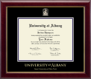 State University of New York  Albany Diploma Frame - Masterpiece Medallion Diploma Frame in Gallery