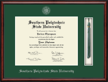 Southern Polytechnic State University Diploma Frame - Tassel Edition Diploma Frame in Southport