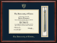The University of Toledo Diploma Frame - Tassel Edition Diploma Frame in Southport