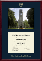 The University of Toledo Diploma Frame - Campus Scene Diploma Frame in Galleria