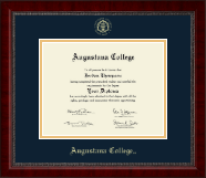 Augustana College South Dakota Diploma Frame - Gold Embossed Diploma Frame in Sutton