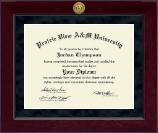 Prairie View A&M University Diploma Frame - Millennium Gold Engraved Diploma Frame in Cordova