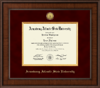 Armstrong Atlantic State University Diploma Frame - Presidential Gold Engraved Diploma Frame in Madison