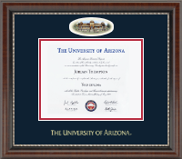 The University of Arizona Diploma Frame - Campus Cameo Diploma Frame in Chateau