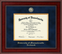University of Massachusetts Dartmouth Diploma Frame - Presidential Masterpiece Diploma Frame in Jefferson