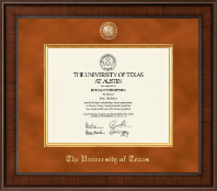 The University of Texas Austin Diploma Frame - Presidential Masterpiece Diploma Frame in Madison