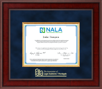 National Association of Legal Assistants & Paralegals Certificate Frame - Presidential Edition Certificate Frame in Jefferson
