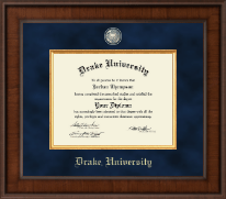 Drake University Diploma Frame - Presidential Masterpiece Diploma Frame in Madison