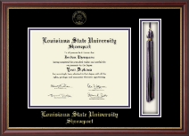 Louisiana State University at Shreveport Diploma Frame - Tassel Edition Diploma Frame in Newport