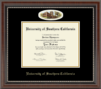 University of Southern California Diploma Frame - Campus Cameo Diploma Frame in Chateau