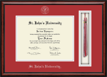 St. John's University, New York Diploma Frame - Tassel Edition Diploma Frame in Southport