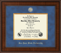 San Jose State University Diploma Frame - Presidential Masterpiece Diploma Frame in Madison
