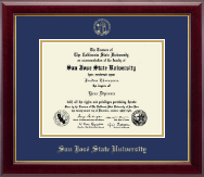 San Jose State University Diploma Frame - Gold Embossed Diploma Frame in Gallery