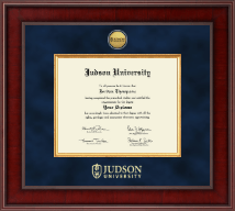 Judson University Diploma Frame - Presidential Gold Engraved Diploma Frame in Jefferson